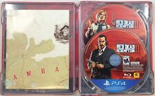 Red Dead Redemption 2 With SteelBook Case & Map PS4 (7508-US24)