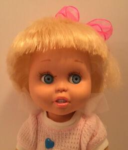 GALOOB BABY FACE DOLL SO INNOCENT CYNTHIA 1990 LGTI ORIGINAL OUTFIT CUTIE