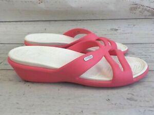 Crocs  Sandalen gr 42-43 Pink E65