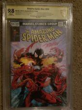 Amazing Spiderman 800 Ultimate mayhew signed 9.8 slabbed