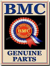 BRITISH MOTOR CORPORATION GENUINE PARTS METAL SIGN.VINTAGE BRITISH CARS (A3)