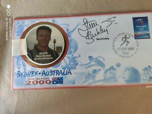 2000 Olympic Games Australia - signed Steve Backley