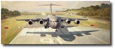 Anything, Anywhere, Anytime by Keith Ferris- C-17 Globemaster III- Aviation Art