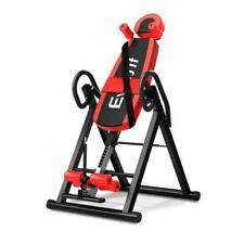 Everfit Inversion Table Gravity Stretcher Inverter Foldable Home Fitness Gym - IVT-6314-RD-BK