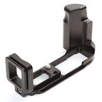 Quick Release L Plate Bracket Handgrif für Olympus OMD E-M10 Mark II  RRS Arca