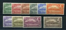Montserrat 1932 pictorials set very fine MLH
