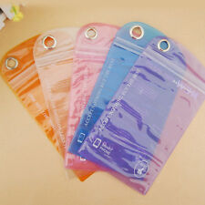 5pcs Transparent Waterproof Dry Pouch Bag Case Cover for Cell Phone PDA