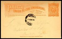 URUGUAY TO ARGENTINA Old Postcard VF