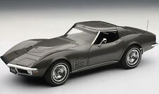 1970 Chevrolet Corvette Gray 1:18 AUTOart 71173