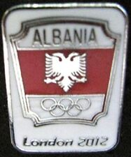 LONDON 2012 Olympic ALBANIA NOC Internal team - delegation dated pin