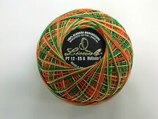 LIMOL MULTICOLOR SWIRL 100% MERCERIZED YARN COTTON BALLS Nº12 FOR CROCHET-50gr-