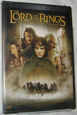 The Lord Of Rings Fellowship DVD 2002 2-disc Set, Formato Panorámico