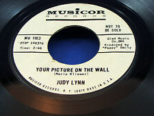 JUDY LYNN - The Golden Nugget / Your Picture On The Wall - 1962 PROMO - N/MINT