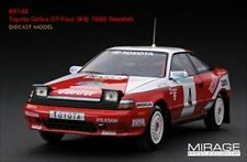 TOYOTA CELICA GT-FOUR #4 SWEDISH RALLY WINNER 1/43 HPi HPI8146