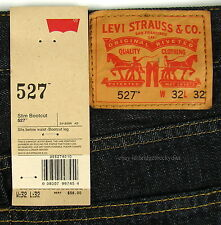 Levis 527 Jeans Mens New Slim Boot Cut Size 32 X 32 TUMBLED RIGID Levi's #887