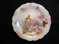 """Rare Huge Schumann Arzberg Wild Rose Cabinet Display Charger Plate Pastel  12"""""""