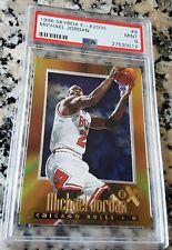 MICHAEL JORDAN 1996 Fleer Skybox 2000 E-X GOLD FOIL PSA 9 Bulls HOF 6xChamps MVP