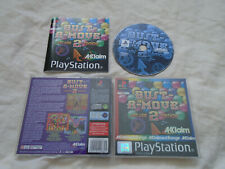 Bust a Move 2 PS1 (COMPLETE) rare black label Sony PlayStation arcade