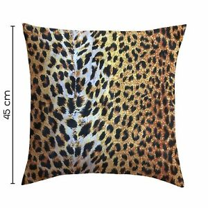 Printed Filled Cushions Decorative Floral Animal Printed Throw Pillows 2 Pack