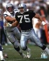 """Howie Long Oakland Raiders NFL Action Photo (8"""" x 10"""")"""