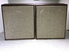 Vintage Mid-Century Argos Wall Speakers