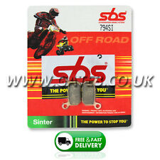 KTM 50 SX Pro Senior LC 2004-2005 SBS 794SI Sintered Competition Rear Brake Pads