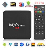 MXQ PRO Android 7.1 S905W Quad Core 1+8G Smart TV Box 4Kx2K 3D WIFI Media Player