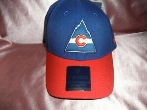 Fanatics Colorado Rockies NHL Hat / Cap Stretch Fit Size M/L, NWT'S -  RARE