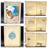 1920 El Alma de La Patria, Libro Primero de Lectura, Segundo Año Elemental