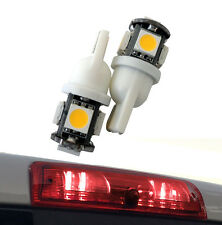 3RD Brake light Red LED high mount upper center stop bulb lamp third (2 Pack)