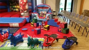 Super Hero Commercial Soft Play Set 22 Piece - Ideal Bouncy Castle Add On