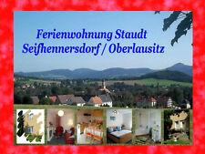 Kurzreise 5T/ 2 Pers. FERIENWOHNUNG Seifhennersdorf Zittauer Gebirge