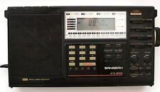 Sangean Ats-803a Fm/Am/Sw World Band Radio Receiver - No Adapter