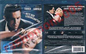 Blu-Ray IM NETZ DER LEIDENSCHAFTEN 1946 Lana Turner Film-Noir-Klassiker OOP NEU