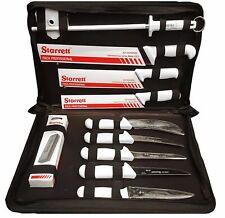 Starrett Professional Butchers Knife Set In Case 11 Piece - BKK-11W