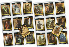 "Star Wars Episode 1 The Phantom Menace - KFC UK - 20 Card ""Promo"" Set 1-20 1999"