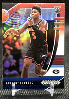 ANTHONY EDWARDS 2020 PRIZM Draft Pick ROOKIE CARD RC Red White Blue T-Wolves 💎