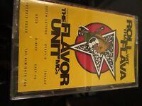 """The Flavor Unit MCs """"Roll Wit Tha Flava"""" - Sony 1993, Cassette Rap Hip-Hop R&B~"""