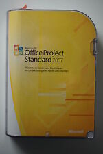 MS Project 2007 standard CD alemán versión completa incl. zweitinst. 076-03749