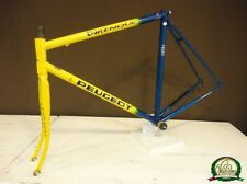 Peugeot Richard Virenque Columbus Thron tubes en acier Road Bicycle frameset 54 cm