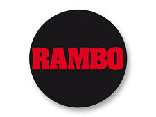 Pin Button Badge Ø38mm Rambo The Best 80's Movies Film Cinema