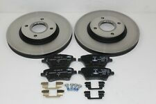 Original Brake Discs + Brake Pads Front Ford B-Max - Fiesta 1751584 +1860476