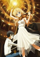 "012 Your Lie in April - Shigatsu wa Kimi no Uso Japanese Anime 14""x20"" Poster"