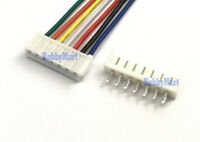 EH 2.5mm JST 7-Pin Female Connector with Wire L:300mm & Male Connector x 10 Sets