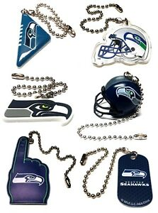 """SEATTLE SEAHAWKS NFL FOOTBALL LIGHT LAMP PULL 6"""" CHAIN EASY CONNECTOR YOU PICK"""