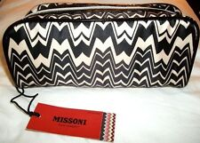 MISSONI x Target 'Famiglia (Black & White Zig Zag)' Kit, Case, Make-up Bag *NEW*