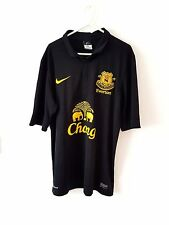 Everton Away Shirt 2012. Medium. Nike. Black Adults M Short Sleeves Football Top