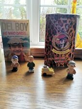 Only fools and horses Set Of Collectable  memorabilia book figures and VHS tin