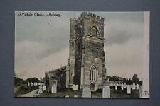 R&L Postcard: JWS J Welch, St Nicholas Church Abbotsbury 1905