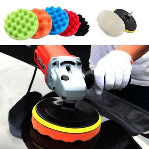 8-piece set 4inch Buffing Waxing Polishing Sponge Pads For Car Polisher Drill